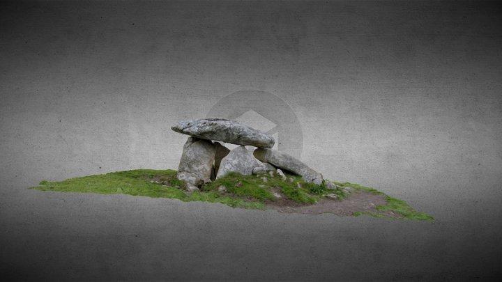 Haroldstown Dolmen, County Carlow, Ireland 3D Model