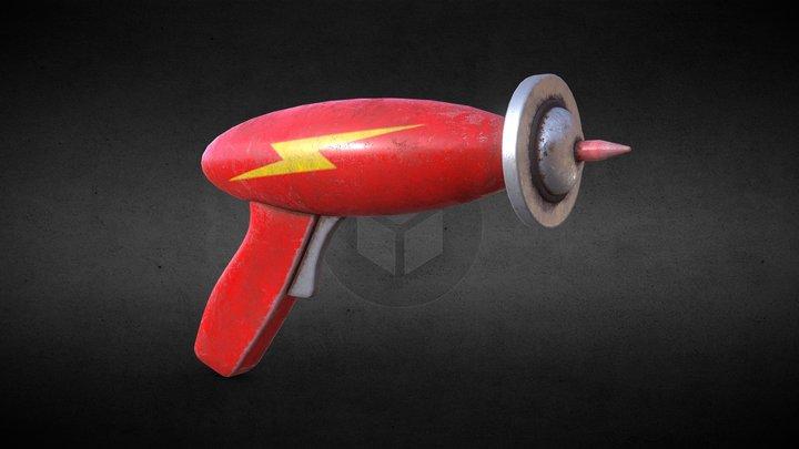 Command Keen's Raygun 3D Model