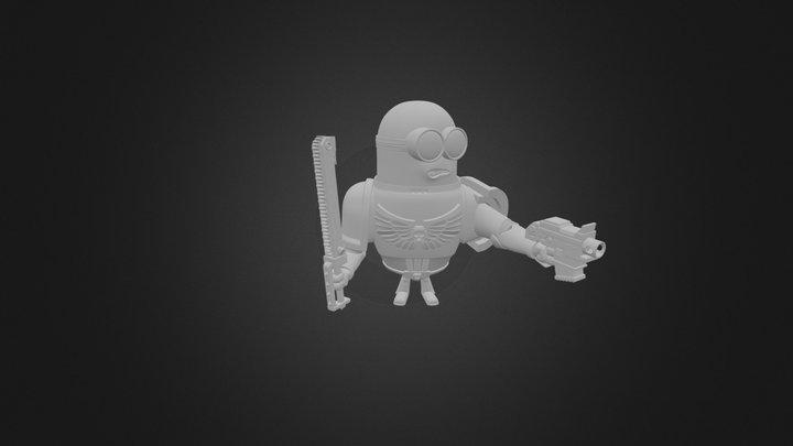 Minion Marine 3D Model