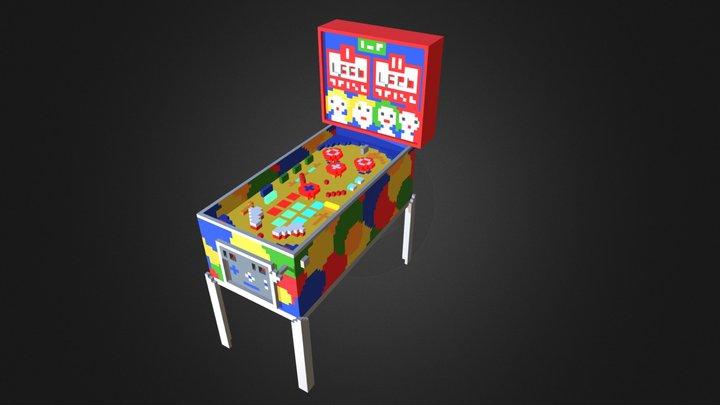Flipper 3D Model
