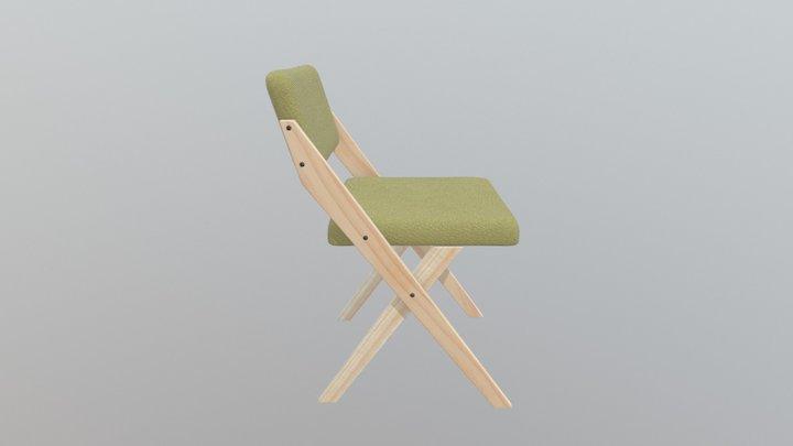 Model_Chair_Modern_Example_01 3D Model