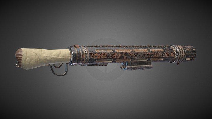 Looper weapon -  Blunderbuss 3D Model