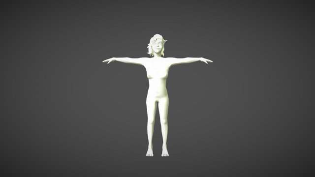 Amira 3D Model