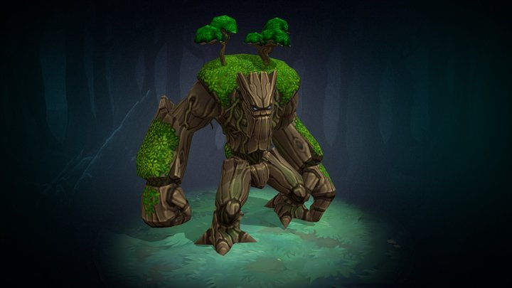 Ent animated character 3D Model