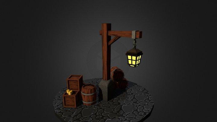 Fantasy Assets 1 3D Model