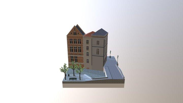 1DAE16 Desmadryl Joeri City Scene 3D Model
