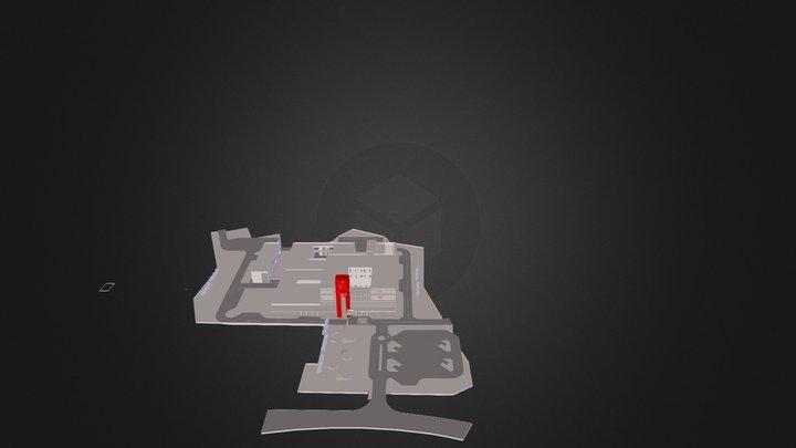 1UProfil,  Neigung 15 Grad, L-30 cm 3D Model