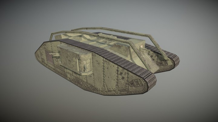 Tank03 3D Model
