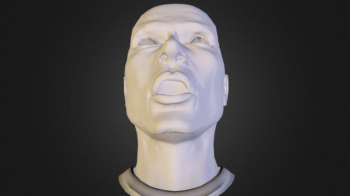 head-09-surprise 3D Model