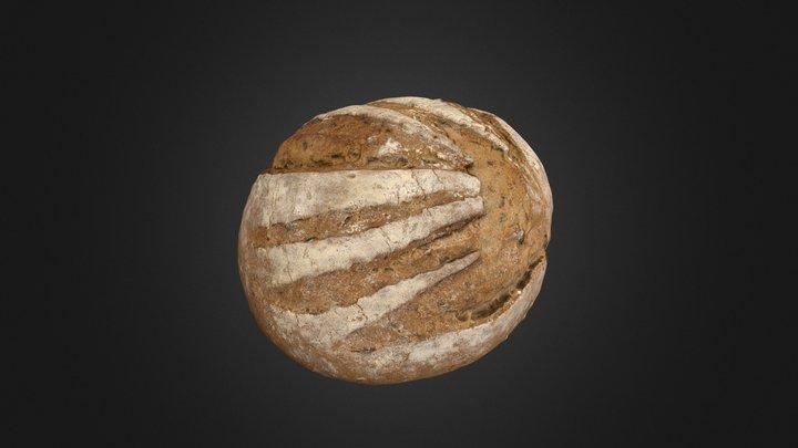 Photo Scanned Bread #03 3D Model