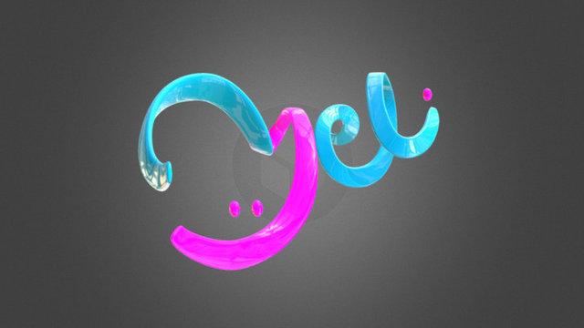 meli Logo 3D Model