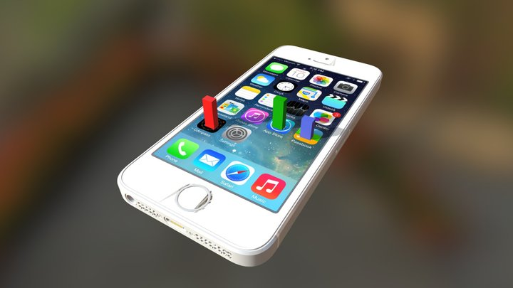 I Phone5 3D Model