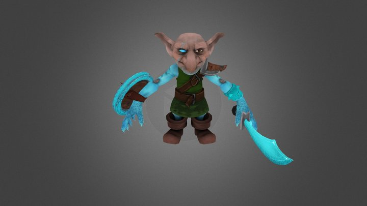 Gobber- Games and Texturing 3D Model