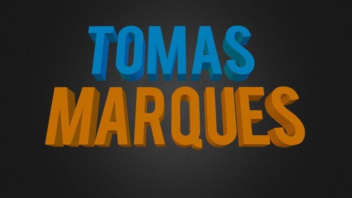 TomasMarques 3D Model