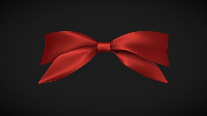 Knotted Bow 3D Model
