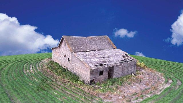 Old Farm house (Humbolt) 3D Model