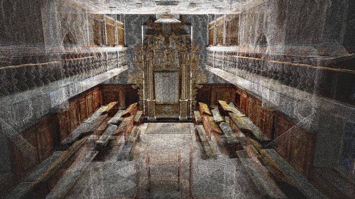 Conegliano Italian Synagogue - Point Cloud 3D Model