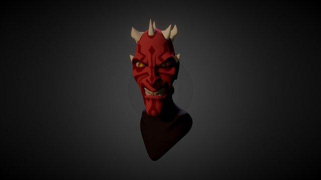 Darth Maul Bust 3D Model