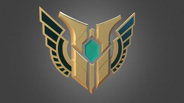 Mastery 7 - League of Legends fan 3D art 3D Model