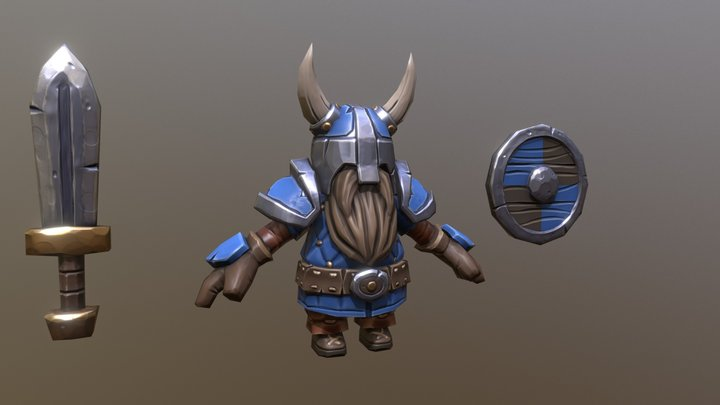 Dwarf Mini 3D Model