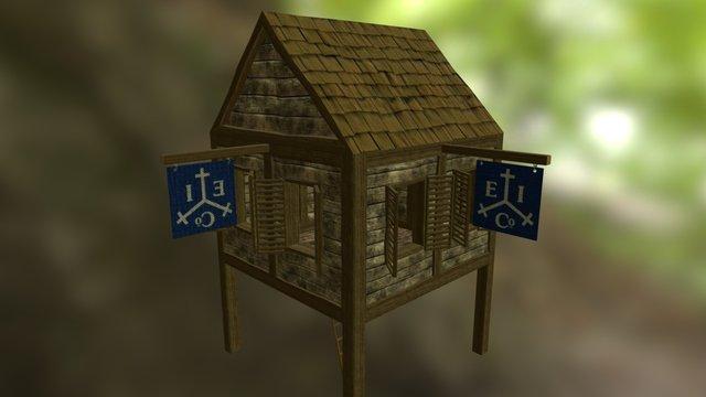 The Forest Exchange - MainBuilding 3D Model