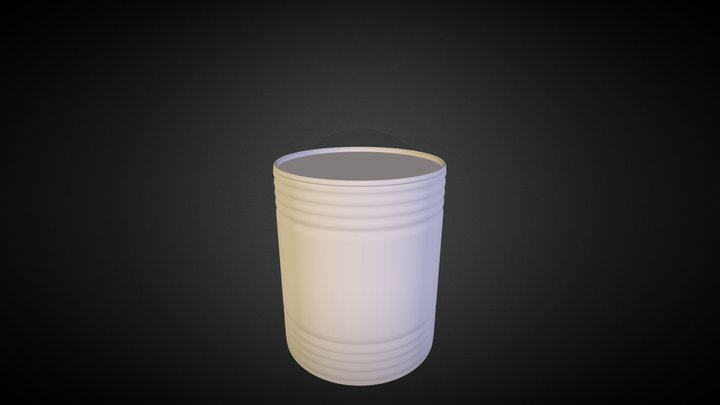 Canned_Food_01 3D Model