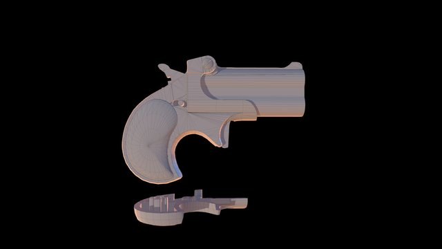 Derringer 3D printable 3D Model