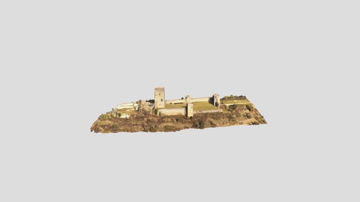 Château de Puivert, Aude 3D Model