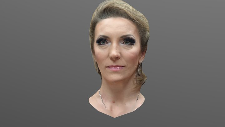 Amneris 3D Model