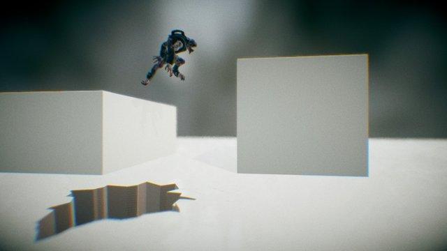Black Tust AnimationTest 3D Model