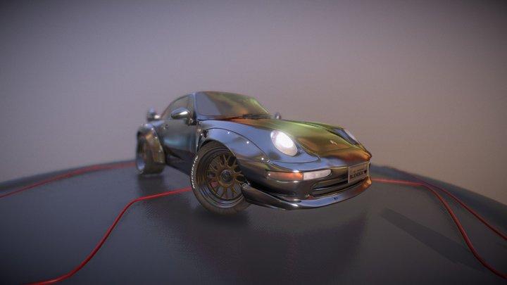Posche 3D Model