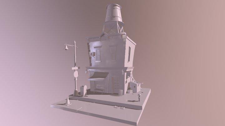 Number 3 3D Model