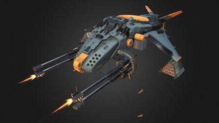 Hellion 3D Model