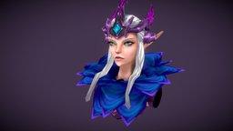 Rosette Fan Art from Hyper Heroes 3D Model
