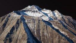 Mount Timpanogos 3D Model