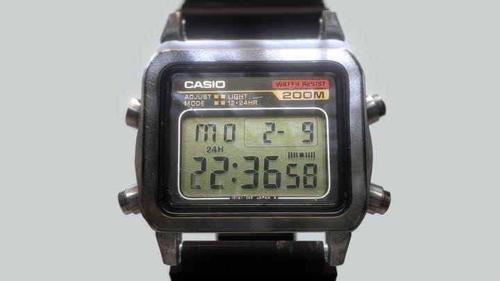 Casio Watch 3D Model