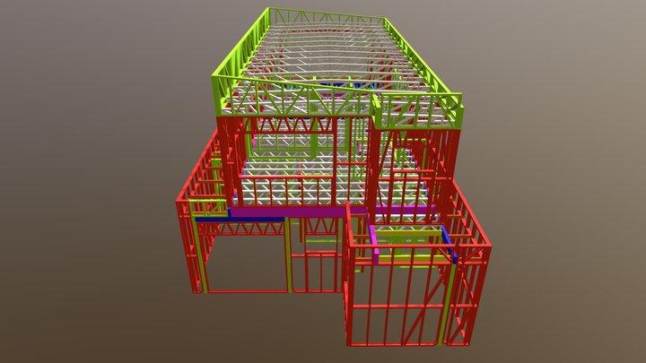 Unit 2  3d Frame walkthrough 3D Model