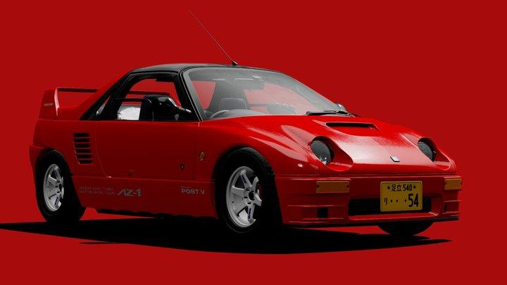 1994 Autozam AZ-1 Mazdaspeed A-spec (PG6SA) 3D Model