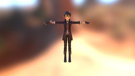 Kirito 3D Model