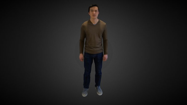Body Scan with Structure Sensor 3D Model