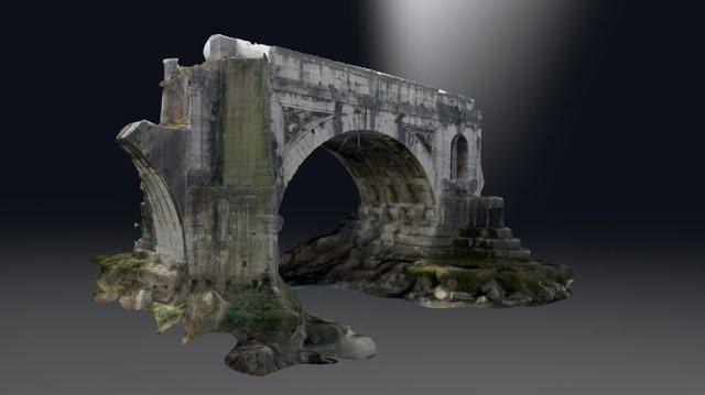 Pons Aemilius / Ponte Rotto 3D Model