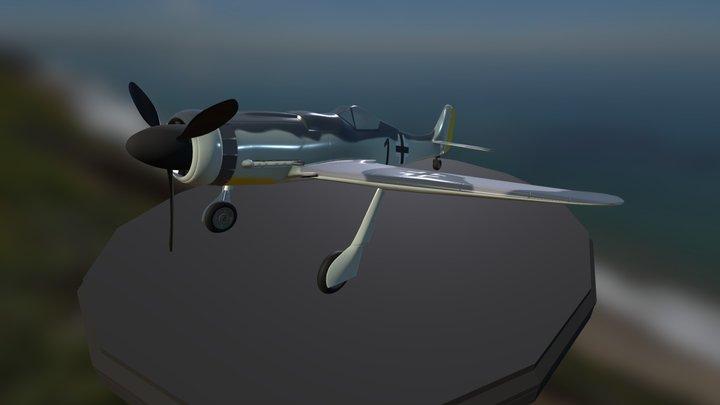 Focke- Wulf Fw190D-9 3D Model