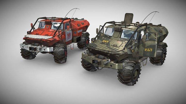 BTRGAZ 3D Model