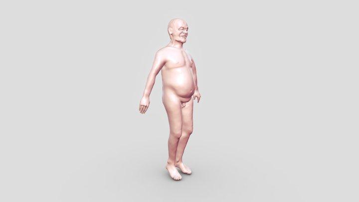 Roberto 1 eosce paciente 3D Model