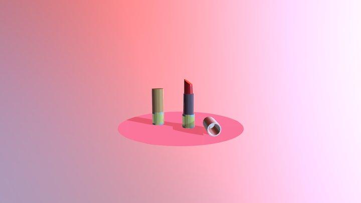 Rouge à levre / Lipstick 3D Model