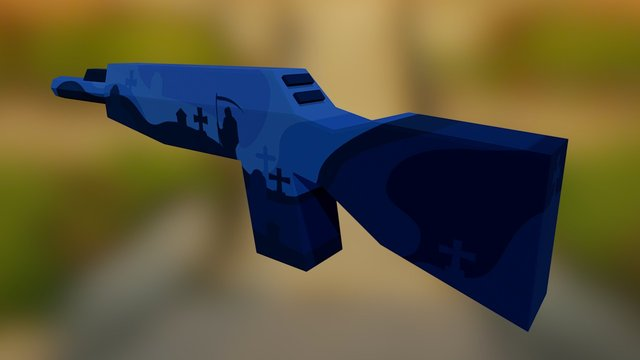 Zubeknakov   Death 3D Model