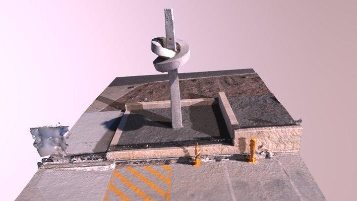Precast Sculpture 3D Model