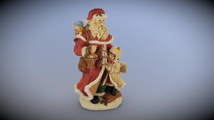 Santa2 3D Model