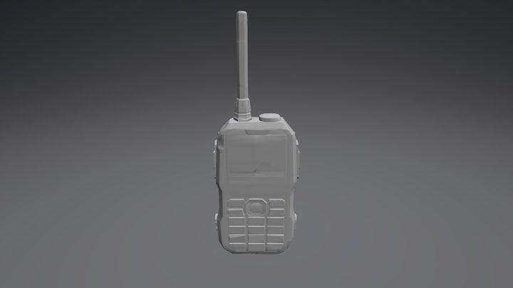 Walkie Talkie Medium Prop Model 3D Model