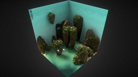 Tropic Island 3D Model